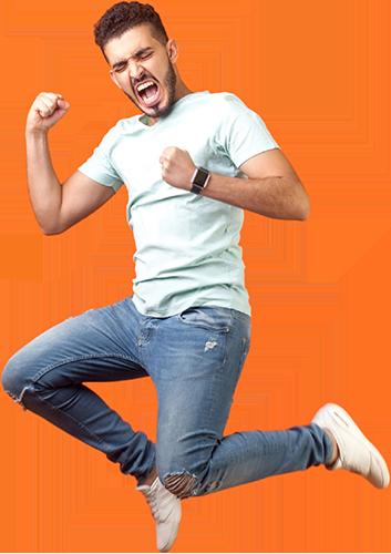 happy man jumping2